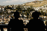 outline stock photography | Spain, Granada, Looking at View of Sacramonte, image id S4-540-9898