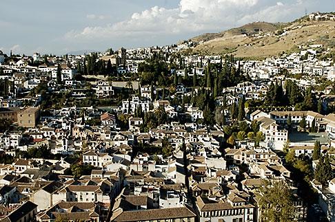 image S4-540-9899 Spain, Granada, View of Sacramonte