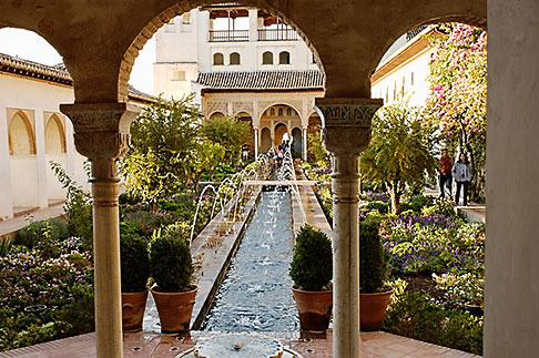 image S4-540-9987 Spain, Granada, Generalife, The Alhambra