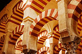 stripe stock photography | Spain, Cordoba, La Mezquita, image id S4-542-0125