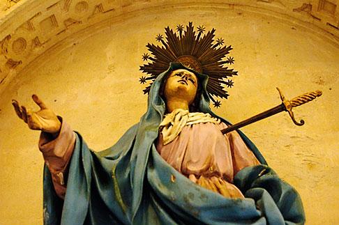 image S4-542-0193 Spain, Cordoba, Statue, La Mezquita