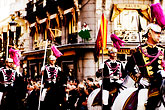 flag stock photography | Spain, Madrid, Parade, image id S4-545-596