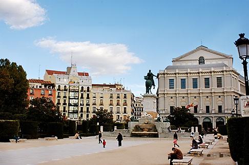 image S4-545-840 Spain, Madrid, Plaza