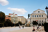 statue stock photography | Spain, Madrid, Plaza, image id S4-545-840