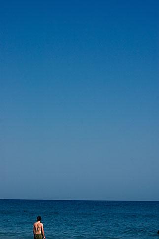 image S5-127-9153 Spain, Nerja, Man on beach