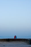 dos stock photography | Spain, Tarifa, Couple at look out point, image id S5-128-9759