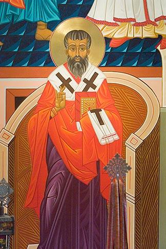 image 5-820-3680 California, San Francisco, Icon, Saint Gregory Nyssen,
