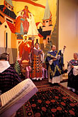 praying stock photography | California, San Francisco, St. Gregory Nyssen Episcopal Church, liturgy, image id 7-492-13