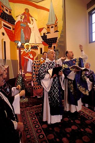 image 7-492-15 California, San Francisco, St Gregory Nyssen Episcopal Church, liturgy