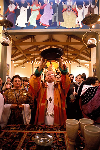 image 9-3-30 California, San Francisco, Bishop Swing at St Gregory Nyssen Episcopal Church
