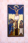 paint stock photography | California, San Francisco, Icon of Christ on the Cross, St Gregory Nyssen Church, image id 9-556-52