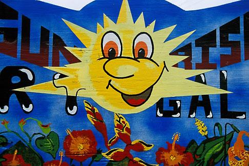image 3-620-85 St Lucia, Sunrise sign