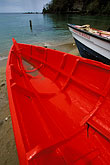 diagonal stock photography | St. Lucia, Canaries, fishing boat on beach, image id 3-620-89