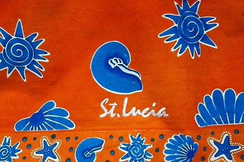 image 3-620-90 St Lucia, Decorative fabric