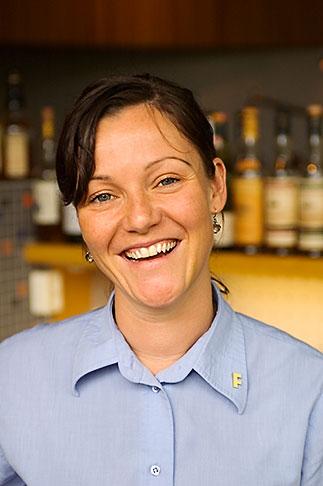 image 5-700-2212 Sweden, Goteborg, Restaurant Fond, waitress