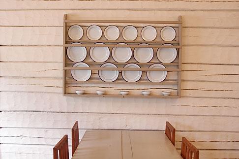 image 5-700-2601 Sweden, Goteborg, Gunnebo Castle, Restaurant dining room