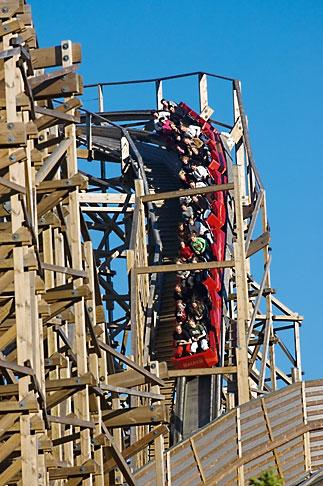 image 5-700-4690 Sweden, Goteborg, Rollercoaster, Liseberg Amusement Park