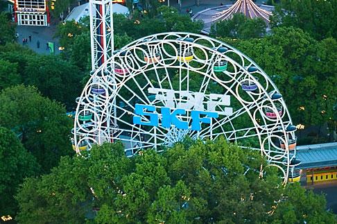 image 5-700-4723 Sweden, Goteborg, Ferris wheel, Liseberg Amusement Park