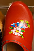 hand crafted stock photography | Sweden, Red clog, image id 5-700-4774