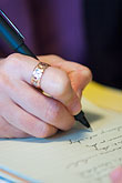 letter stock photography | Sweden, G�teborg, Writing, image id 5-700-4796