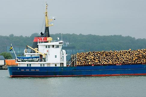 image 5-700-4806 Sweden, Goteborg, Goteborg Harbor, Timber Ship