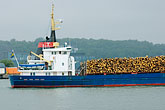 cargo stock photography | Sweden, G�teborg, G�teborg Harbor, Timber Ship, image id 5-700-4806