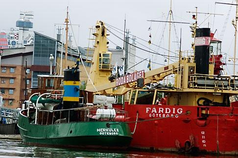image 5-700-4860 Sweden, Goteborg, Goteborg Harbor, Shipping