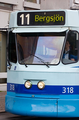 image 5-700-4935 Sweden, Goteborg, Tram