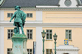architecture stock photography | Sweden, G�teborg, Statue of King Gustav Adolf, image id 5-700-4936
