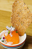 garnish stock photography | Swedish food, Bleak roe and crispbread, image id 5-700-5102