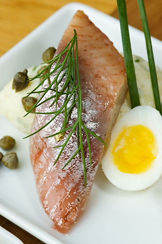 image 5-700-5113 Swedish food, Herring appetizer