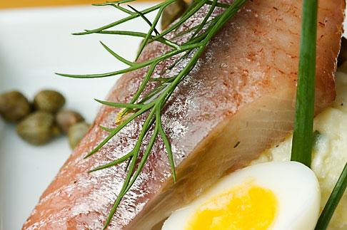 image 5-700-5116 Swedish food, Herring appetizer