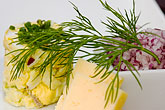 garnish stock photography | Swedish food, Cheese appetizer, image id 5-700-5288