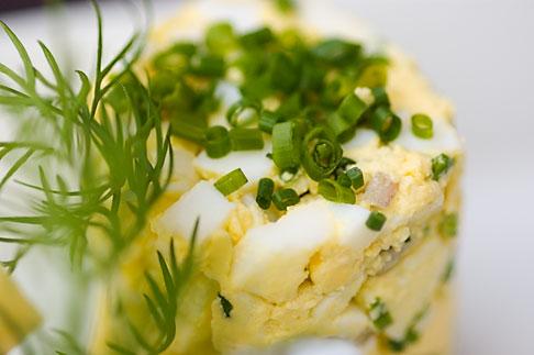 image 5-700-5299 Swedish food, Chopped egg salad