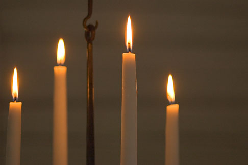 image 5-700-5852 Sweden, Goteborg, Candles