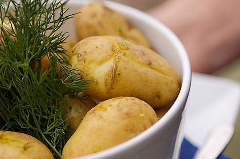 image 5-710-2406 Swedish food, Boiled Potatoes