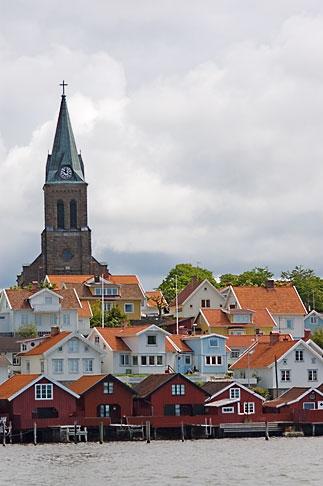 image 5-710-5615 Sweden, Fjallbacka, Village church