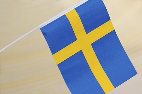 image 5-720-2749 Sweden, Stockholm, Swedish flag