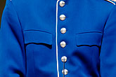 button stock photography | Sweden, Stockholm, Palace Guard, image id 5-720-2954