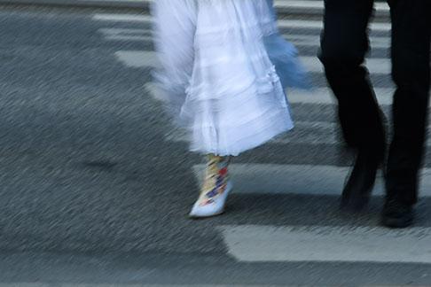 image 5-720-3293 Sweden, Stockholm, Couple walking