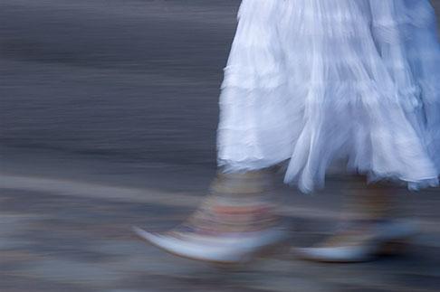 image 5-720-3295 Sweden, Stockholm, Woman walking