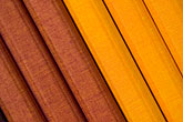 straight line stock photography | Still life, Yellow and brown cloth bound notebooks, image id 5-720-4061