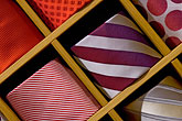 stripe stock photography | Still life, Neckties, image id 5-720-4111
