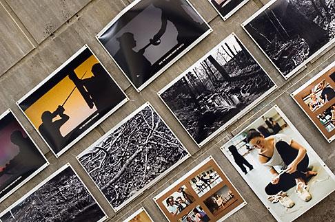 image 5-720-4127 Sweden, Stockholm, Street Market, Photography exhibit