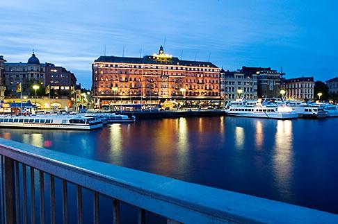 image 5-720-4231 Sweden, Stockholm, Strombron Bridge