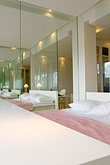 bed stock photography | Sweden, Stockholm, Lydmar Hotel, image id 5-720-4246