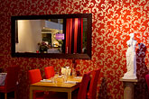 dining room stock photography | Sweden, Stockholm, Grill restaurant , image id 5-720-4329