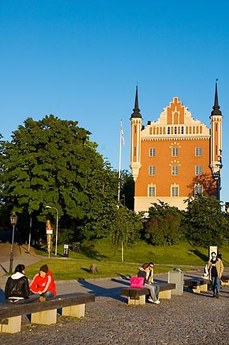 image 5-720-4351 Sweden, Stockholm, Skeppsholmen, Admiralty House, Amiralitetshuset