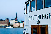 riddarholmskyrkan stock photography | Sweden, Stockholm, Ferry, image id 5-720-4382