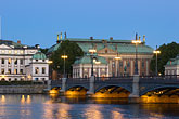 night stock photography | Sweden, Stockholm, Riddarholmen, image id 5-720-4386